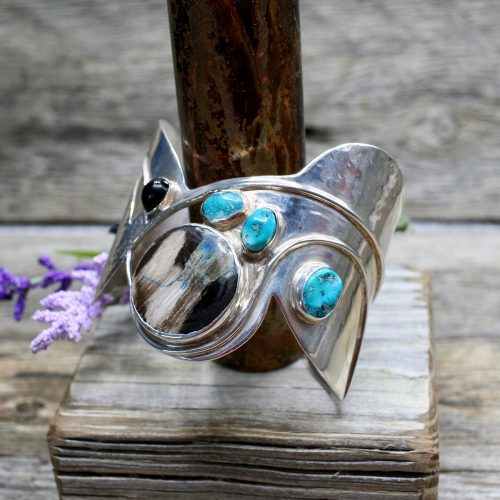 Handcrafted Sterling Silver Cuff