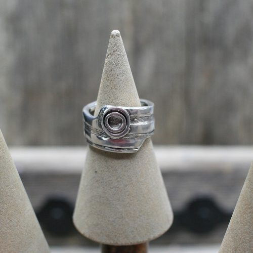 Handcrafted Sterling Silver Spiral Ring