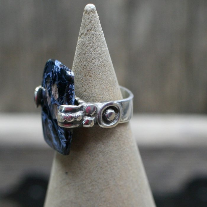 Blue Tempest Stone Ring